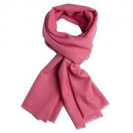 Rosa kypertvävd pashmina sjal