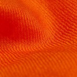 Orange 2-trådigt pashmina sjal
