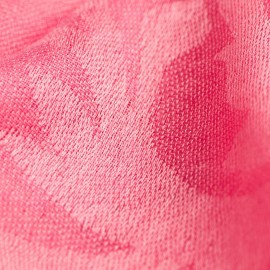 Rosa jacquardvävd pashmina sjal