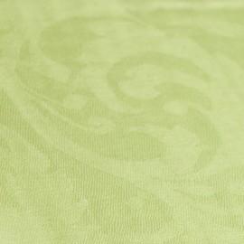 Äppelgrön jacquardvävd pashmina sjal
