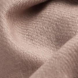Gråbrun kypertvävd pashmina halsduk