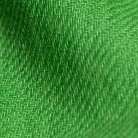 Gräsgrön kypertvävd pashmina sjal