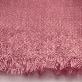 Rödviolett diamantvävd pashmina sjal