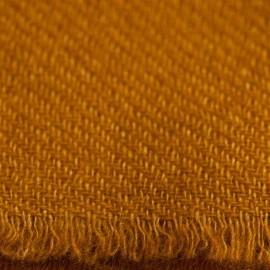 Mörk gyllene kypertvävd pashmina halsduk