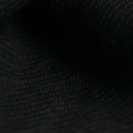 Svart kypertvävd pashmina sjal
