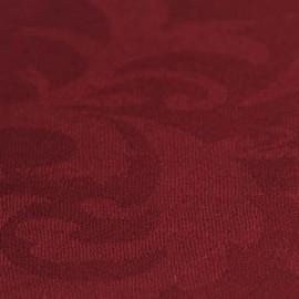 Vinröd jacquardvävd pashmina sjal