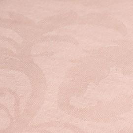 Ljusrosa jacquardvävd pashmina sjal