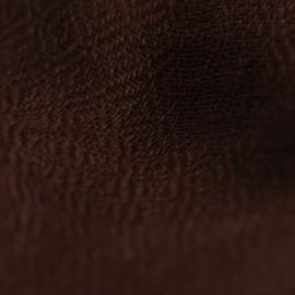 Svartbrun pashmina halsduk vävd i diamantmönster