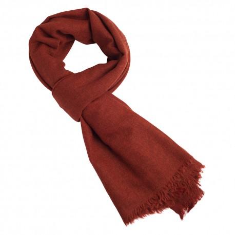Orange jak scarf