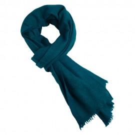 Petrolblå jak scarf