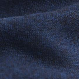 Kashmir halsduk i blå / svart melange