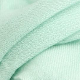 Mintgrön kypertvävd pashmina halsduk