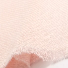 Liten kashmir halsduk i delikat rosa