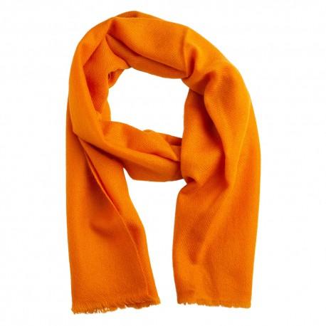 Liten kashmir halsduk i orange