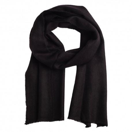 Liten svart halsduk i 100% kashmir