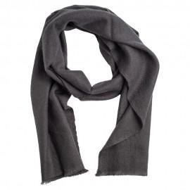 Liten kashmir halsduk i mörkgrå