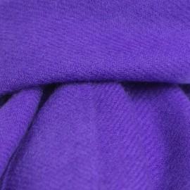 Blålilla kypertvävd pashmina halsduk