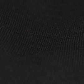 Svart stickad sjal i silke / kashmir