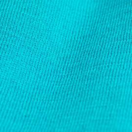 Petrolblå stickad sjal i silke / kashmir