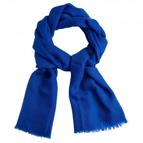 Blå diamant vävd pashmina sjal