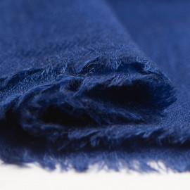 Mörkblå diamant vävd pashmina sjal