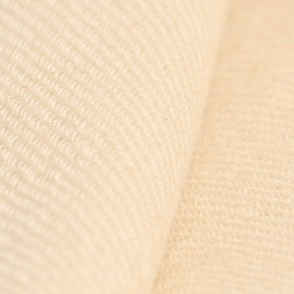 Beige kypertvävd pashmina sjal