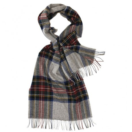 Stor grå skotsk halsduk