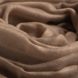 Stor musgrå kashmir sjal 200 x 140 cm