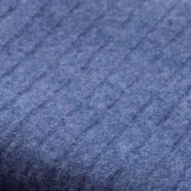 Mörkblå filt i ren kashmir