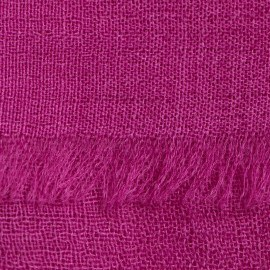 Violet pashmina sjal i tuskaftbindning