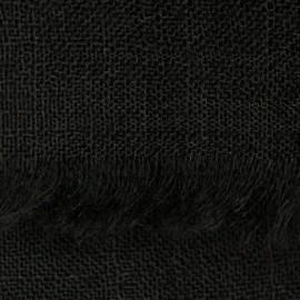 Sort pashmina sjal i basket weave