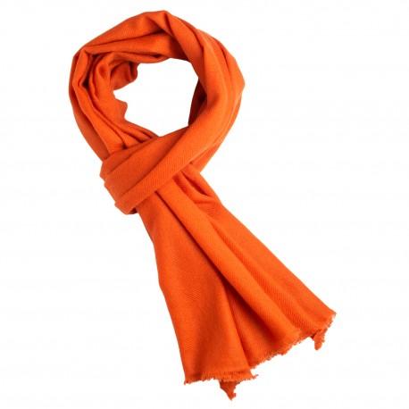 Rost orange kashmir halsduk