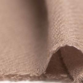 Liten gråbrun kashmir halsduk