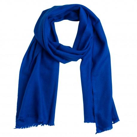 Liten blå halsduk i kashmir