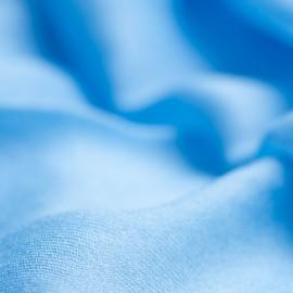 Stor himmelsblå kashmirsjal 200 x 140 cm