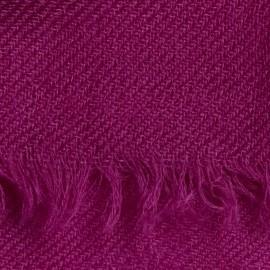 Violet pashmina halsduk i 2-trädigt kypert