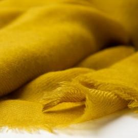 Currygul pashmina sjal i 2 -lags twill