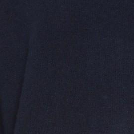 Navy tröja med detaljer i vit, blå och kamel