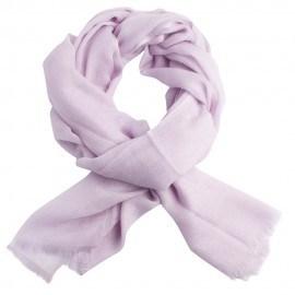 Lavendelfärgad diamant vävd pashmina sjal