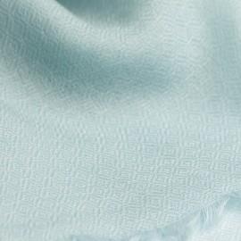 Opalfärgad diamantvävd pashmina sjal