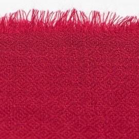 Vinröd diamantvävd pashmina sjal