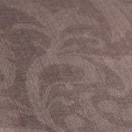 Grå jacquardvävd pashmina sjal