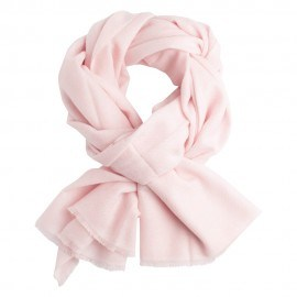 Sart rosa kypertvävd pashmina halsduk