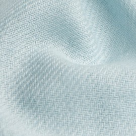 Opalfärgad kypertvävd pashmina halsduk