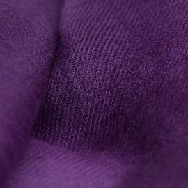 Mörk lila pashmina sjal i 2-trädigt kypert