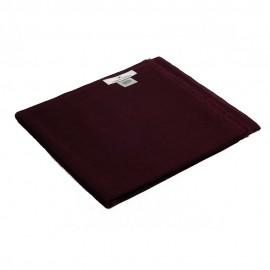 Rödbrun pashmina sjal i 2-trådigt kypert