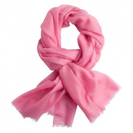 Rosa pashmina sjal i tuskaftbindning
