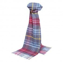 Klassisk skotskrutig halsduk