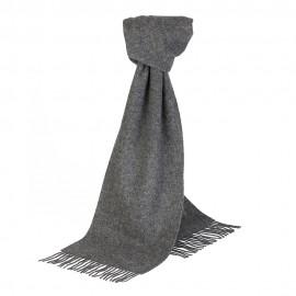 Grå scarf i lammull