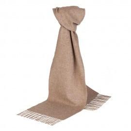 Beige scarf i lammull